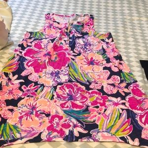 Lilly Pulitzer Floral dress size Large